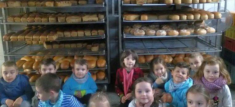 Wycieczka do piekarni dzieci z grupy V