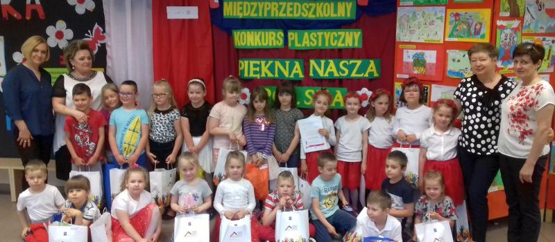 """Rozstrzygnięcie Międzyprzedszkolnego Konkursu Plastycznego """"Piękna nasza Polska cała"""""""