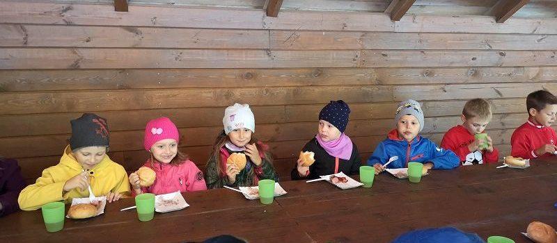 Święto Pieczonego Ziemniaka w grupie V