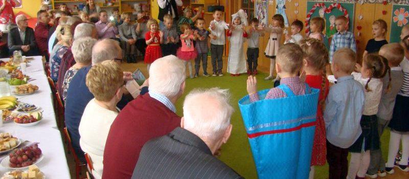 Dzień Babci i Dziadka w grupie II