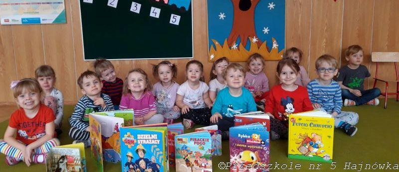 Rozwijamy zainteresowania książką w grupie I