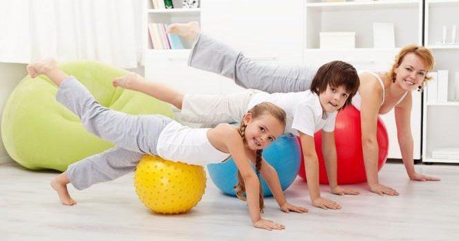 Ćwiczymy z rodziną