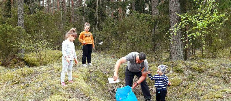 Dzieci z grupy IV dbają o przyrodę i są EKO