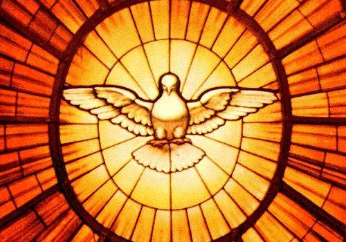 Zmartwychwstały Jezus posyła swego Ducha Pocieszyciela