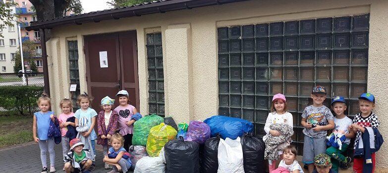Przedszkolaki pomagają Kubusiowi