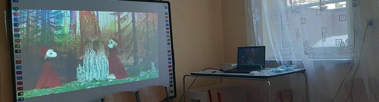 """Wirtualna wizyta dzieci z grupy siódmej w """"Czarodziejskim lesie"""""""