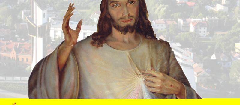 W niedzielę Miłosierdzia Bożego oddaję cześć Jezusowi