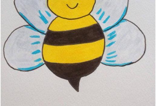 Bajka o odważnej pszczole